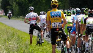 """طريقة تبول """"غريبة"""" لدى دراجي المسافات الطويلة"""