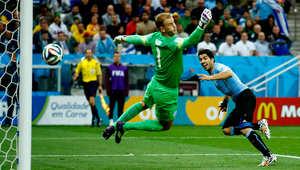 """منتخب إنجلترا يقترب من وداع """"البرازيل 2014"""" بخسارة ثانية أمام أوروغواي"""