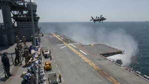 """خلاف بين البنتاغون و البحرية حول استعداد طائرة """" F-35"""" الشبح للقتال"""
