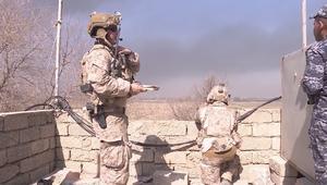 أمريكيون على الخطوط الأمامية بمعركة الموصل