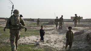 صورة ارشيفية لجندي أمريكي في أفغانستان
