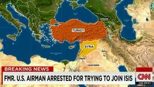 """من مصر إلى تركيا ثم سوريا.. توقيف ضابط سابق بالجيش الأمريكي في طريقه للانضمام لـ""""داعش"""""""