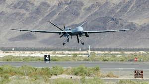 طائرة آلية تنفذ أولى غارات أمريكا على سوريا من تركيا