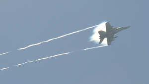صورة ارشيفية لطائرة مقاتلة أمريكية