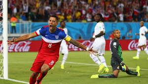 مونديال البرازيل 2014.. أيوو يدرك التعادل لغانا أمام أمريكا