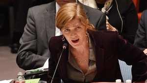 سامانثا باور ممثلة الولايات المتحدة في مجلس الأمن الدولي