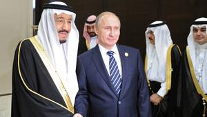 بوتين باتصال مع الملك سلمان: الأزمة مع قطر قد تعرقل الحل بسوريا