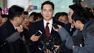 طلب توقيف نائب رئيس مجموعة سامسونغ بتهم فساد سياسي