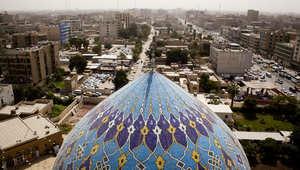 مشهد للمدينة القديمة في بغداد
