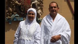 السفير البريطاني في السعودية يؤدي فريضة الحج