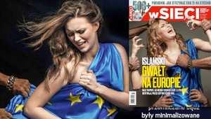 """غلاف مجلة بولونية بعنوان """"الاغتصاب الإسلامي لأوروبا"""" يثير انتقادات واسعة"""