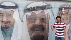 المحامي والناشط الحقوقي السعودية وليد أبو الخير في صورة أرشيفية