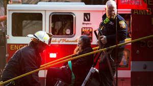 """""""دخان غامض"""" بمحطة لمترو الأنفاق في واشنطن يخلف قتيلاً و84 جريحاً"""