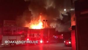 9 قتلى على الأقل إثر حريق في مدينة أوكلاند
