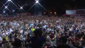 عشرات الآلاف في هونغ كونغ يشاركون في إحياء ذكرى مذبحة تيانانمين