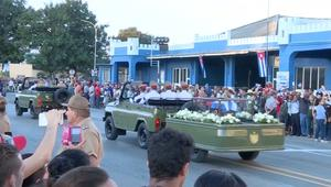 رماد كاسترو يصل المحطة الأخيرة