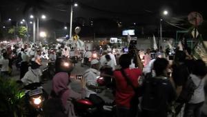 متظاهرون يطالبون بعزل حاكم جاكرتا ويتهمونه بالإساءة للإسلام