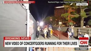 شاهد.. فيديو جديد للحظات الرعب والهروب من مذبحة لاس فيغاس