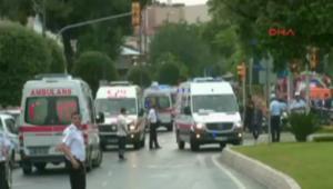 شاهد أول لحظات بعد الانفجار في مدينة إسطنبول التركية