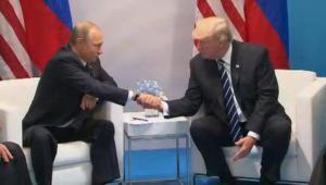 شاهد.. أول اجتماع بين ترامب وبوتين في ألمانيا