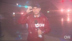 عدسة CNN تدخل قلب الإعصار ماثيو