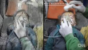 مدرس أمريكي يرسم الحرب الدموية في سوريا