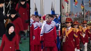 شاهد.. 5 لقطات نادرة للكوريتين وأمريكا في الأولمبياد
