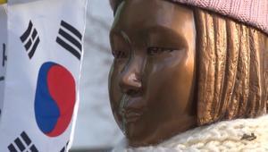 تمثال لضحايا الاستعباد الجنسي يثير أزمة دبلوماسية بين طوكيو وسيؤل