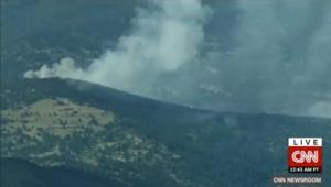 بالفيديو: اندلاع حريق بغابة في كولورادو الأمريكية بسبب تخييم رجلين