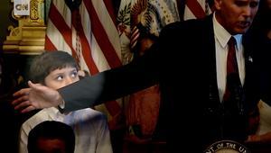 طفل يطالب نائب الرئيس الأمريكي بالاعتذار!