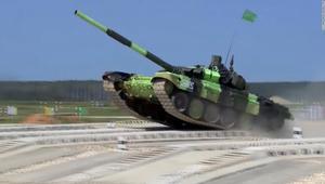 شاهد أداء T-14.. أول تصميم لدبابة روسية منذ انهيار الاتحاد السوفيتي