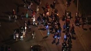 مشاهد من طائرة بدون طيار لصدامات ميلواكي الأمريكية بعد مقتل شاب أسود