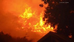 بالفيديو: حرائق الغابات تتسع في كاليفورنيا رغم جهود الدفاع المدني