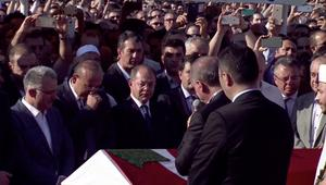 شاهد.. أردوغان يبكي خلال تشييع ضحايا محاولة الانقلاب