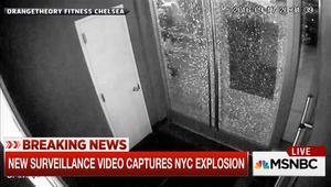 شاهد لحظة وقوع انفجار مانهاتن من كاميرات مراقبة