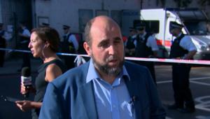 شاهد عيان: إمام المسجد أنقذ مهاجم لندن وأبقاه آمناَ حتى وصول الشرطة