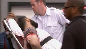 شاهد.. لحظة القبض على المشتبه به بتفجير مانهاتن