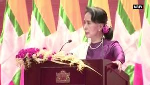 زعيمة ميانمار: أغلبية المسلمين لم يغادروا