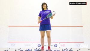 الرياضية ماريا تورباكاي وزير.. من معقل طالبان إلى العالمية