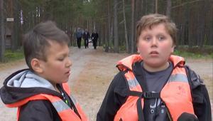 غرق 13 طفلاً روسيا في عاصفة خلال رحلة بالقارب