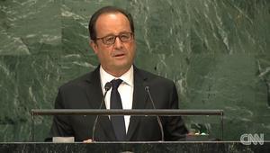"""الرئيس الفرنسي: حلب هي """"مدينة شهيدة"""""""