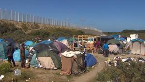 """من داخل مخيم """"الغابة"""" للمهاجرين بفرنسا"""
