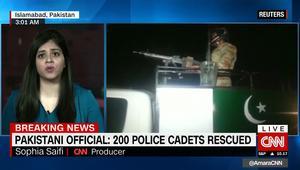 ارتفاع عدد ضحايا هجوم مركز تدريب الشرطة في باكستان