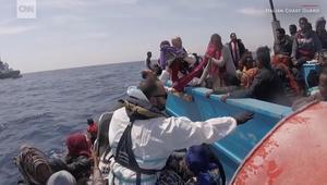 إنقاذ 1800 مهاجر من الغرق في البحر المتوسط