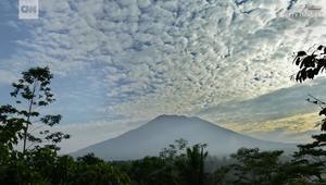 بركان بالي بإندونيسيا على وشك الثوران