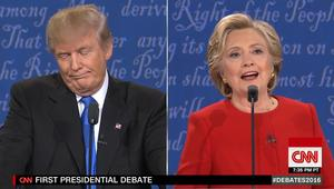 كلينتون في المناظرة الرئاسية: ترامب يصف النساء بالخنازير والكلاب والكسالى