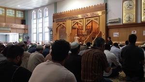 CNN داخل أكبر مساجد مانشستر..