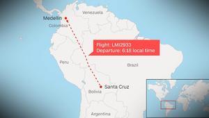 تحطم طائرة في كولومبيا تحمل 81 شخصاً بينهم فريق برازيلي