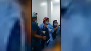 شاهد.. ممرضات يرقصن داخل غرفة عمليات بجانب مريضة عارية