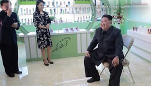 كيم جونغ أون وزوجته يظهران على وسائل الإعلام الرسمية